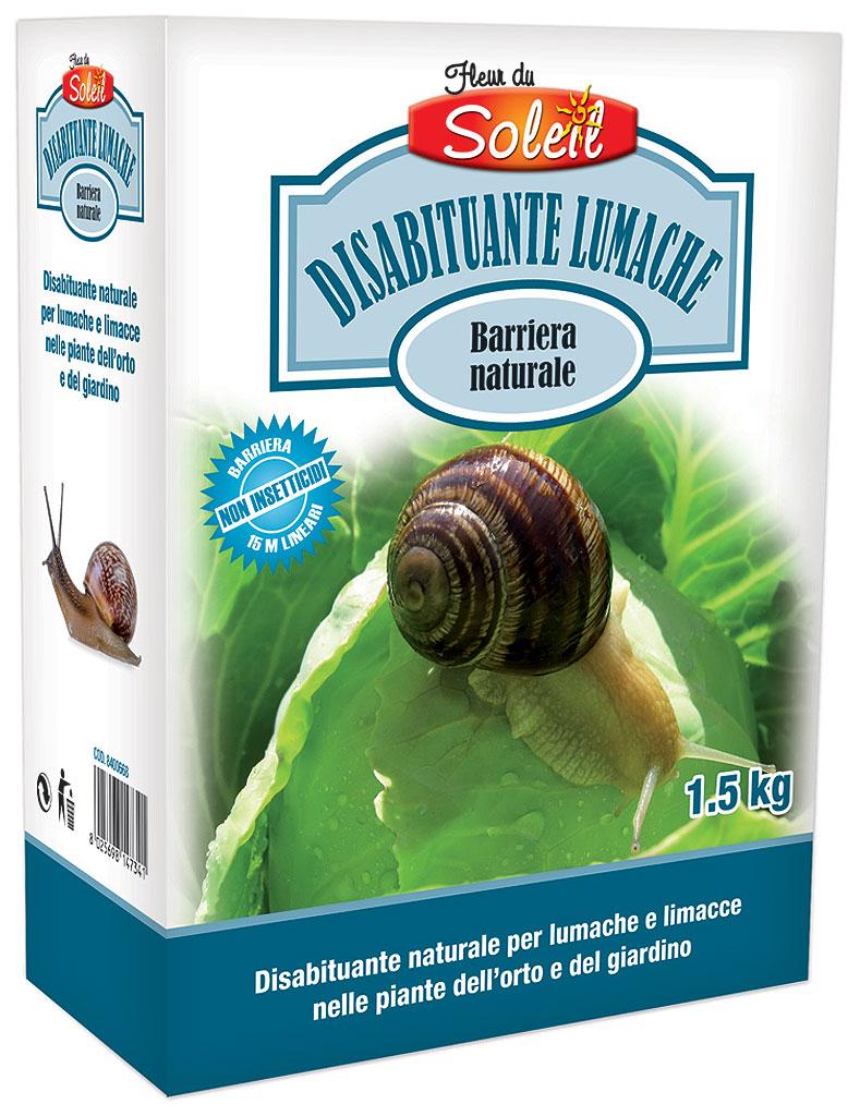 Disabituante lumache e limacce Completamente naturale