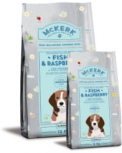 McKERK ADULT MEDIUM FISH & RASPBERRY